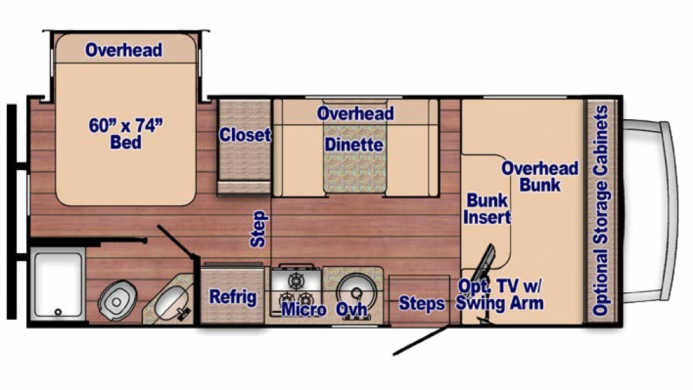 2018 Conquest 6220 Floor Plan Img