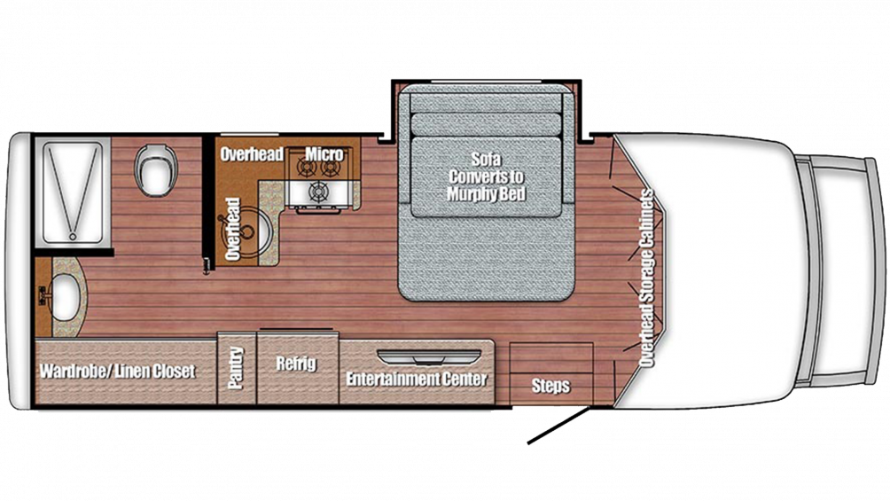 2019 BT Cruiser 5240 Floor Plan Img