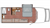 2019 BT Cruiser 5240 Floor Plan