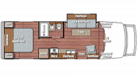 2019 BT Cruiser 5270 Floor Plan