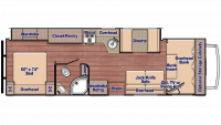 2019 Conquest 6310 Floor Plan