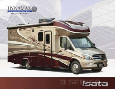 2018 Dynamax Corporation Isata 3 RV Brand Brochure Cover