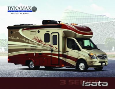 2019 Dynamax Corporation Isata 3 RV Brochure Cover