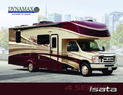 2019 Dynamax Corporation Isata 4 RV Brochure Cover