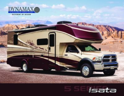 2019 Dynamax Corporation Isata 5 RV Brochure Cover