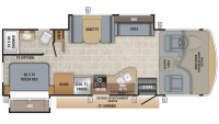 2019 Alante 26X Floor Plan