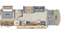 2019 Alante 31V Floor Plan