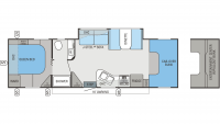 2013 Greyhawk 31FK Floor Plan