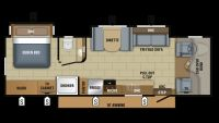 2019 Greyhawk 29MV Floor Plan