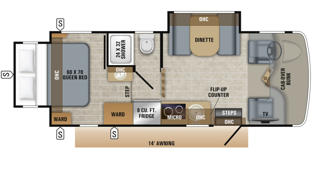 2019 Melbourne 24K Floor Plan Img