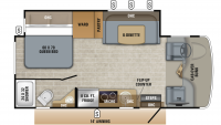 2019 Melbourne 24L Floor Plan