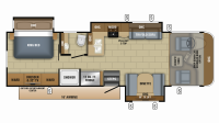 2019 Precept 31UL Floor Plan