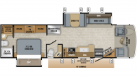 2019 Seneca 37RB Floor Plan