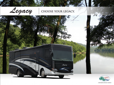 2018 Forest River Legacy RV Brochure Cover