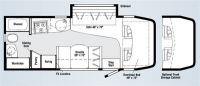 2008 Navion 24h Floor Plan