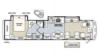 2003 The Executive 40DS Floor Plan
