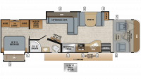 2020 Precept 33U Floor Plan