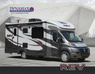 2017 Dynamax Corporation REV RV Brand Brochure Cover