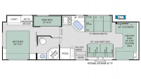2018 Chateau 31E Floor Plan