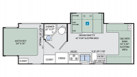 2018 Four Winds 24HL Floor Plan