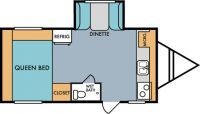 2018 Mt. McKinley 174S Floor Plan