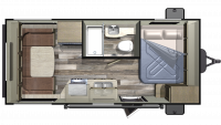 2020 Autumn Ridge Outfitter 171RD Floor Plan