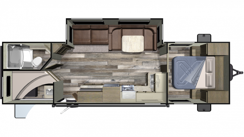 2020 Autumn Ridge Outfitter 282BH Floor Plan Img