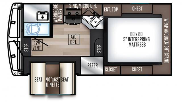 2020 Backpack Edition HS-2902 Floor Plan