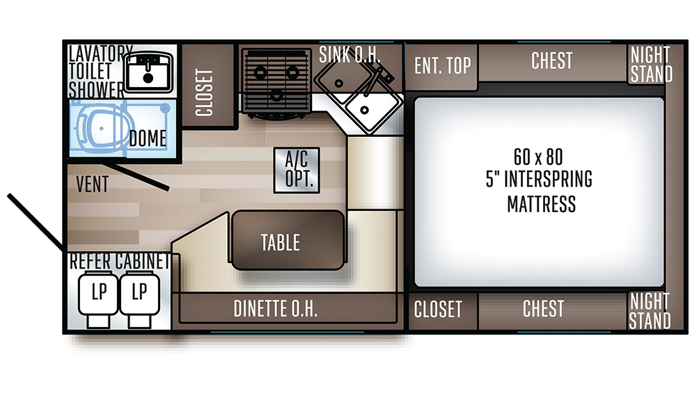 2020 Backpack Edition HS-8801 Floor Plan Img
