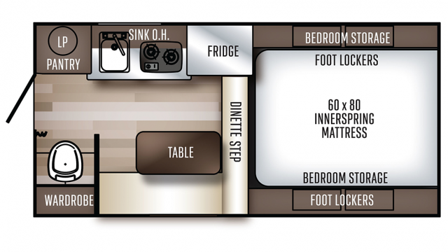 2020 Backpack Edition SS-1240 Floor Plan