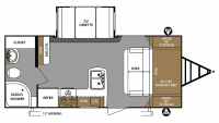 2019 Surveyor Legend 200MBLE Floor Plan