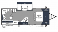 2019 Surveyor Luxury 243RBS Floor Plan