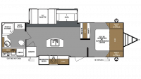 2019 Surveyor Legend 285IKLE Floor Plan