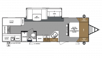 2019 Surveyor Legend 295QBLE Floor Plan