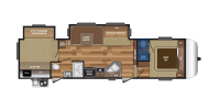 Half Bath Floor Plan