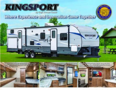 2019 Gulf Stream Kingsport RV Brochure Cover