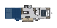 Rear Garage Floor Plan