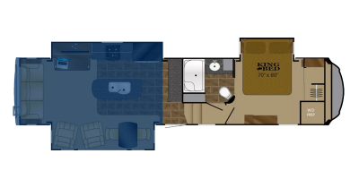 Rear Living Floor Plan