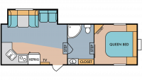 2019 Throwback 526RK Floor Plan