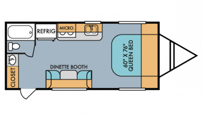 2018 Mt. McKinley 189 Floor Plan Img