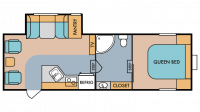 2019 Mt. McKinley 530RL Floor Plan