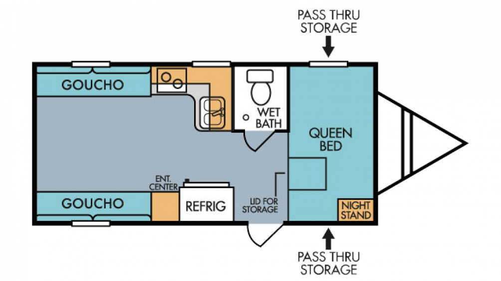 2018 Mt. McKinley 820 Floor Plan Img