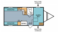 2019 Mt. McKinley 820 Floor Plan