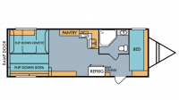 2018 Mt. McKinley 827 Floor Plan