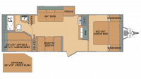 2019 Oasis 25RS Floor Plan