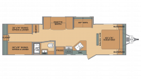 2019 Oasis 30QB Floor Plan