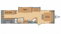 2019 Oasis 31OK Floor Plan